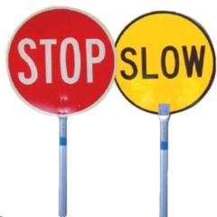 Rental store for SIGN STOP SLOW  PAIR in Sydney NSW