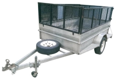 Rental store for TRAILER BOX   CAGE 8  X 5 in Sydney NSW