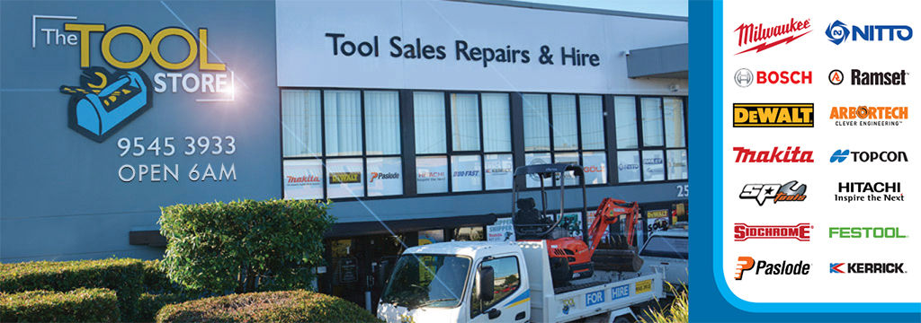 The Tool Store >> The Tool Store Equipment And Tools For Hire Serving Sydney